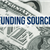 image of a one dollar bill with Funding Sources text overlay