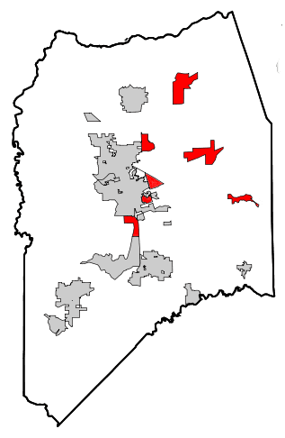 County Outline Unincorporated