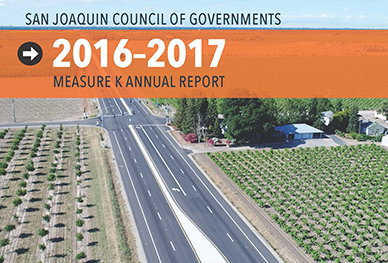 Image of Cover of 2016-2017 Measure K Annual Report