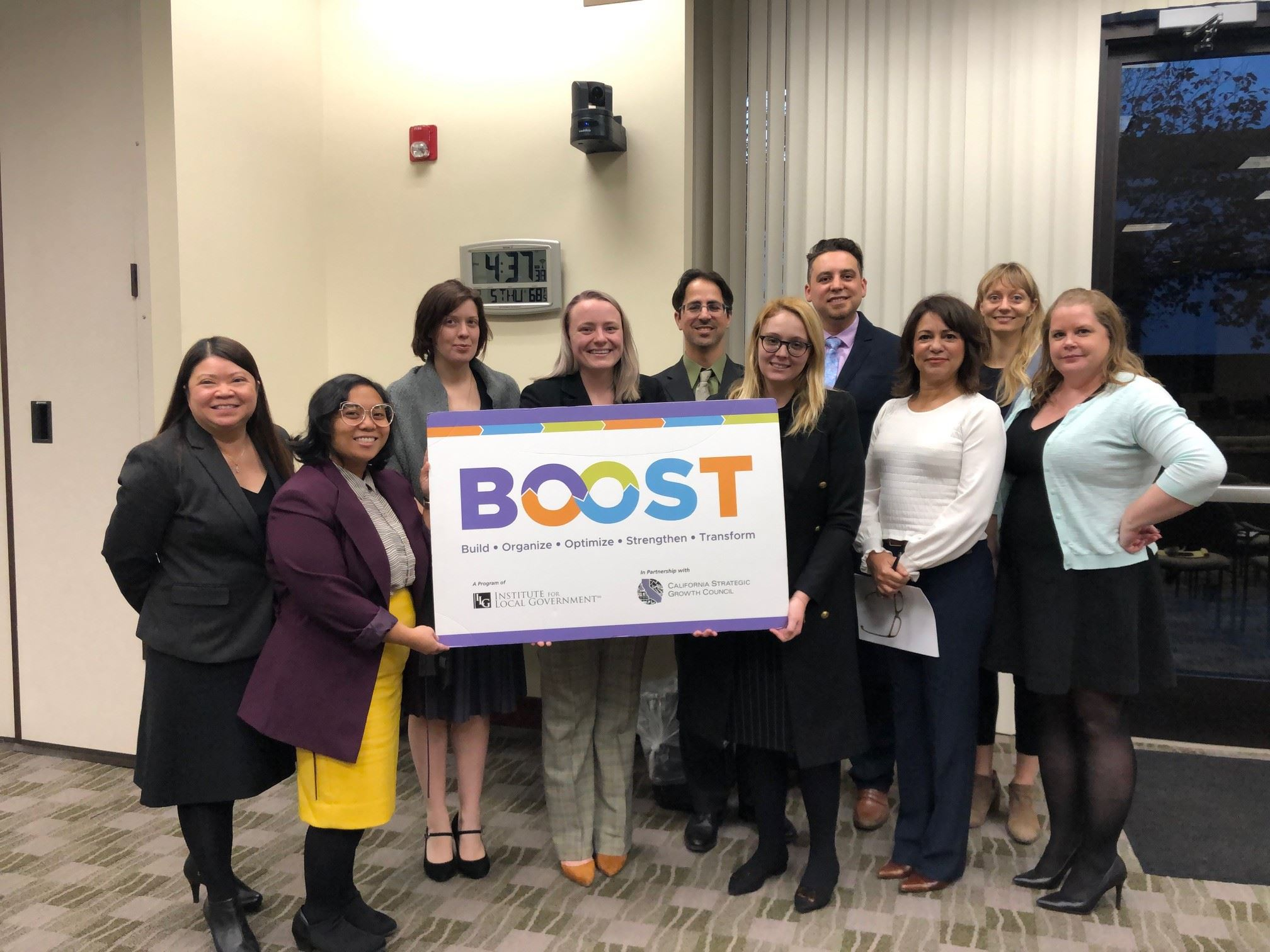 BOOST Program Staff Photo