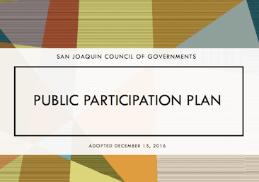 Image of 2016 Public Participation Plan Cover