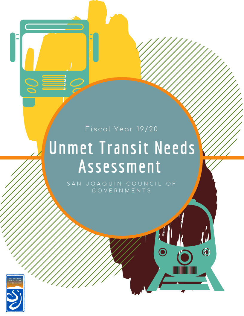 Unmet Transit Needs FY 19_20 Cover Image